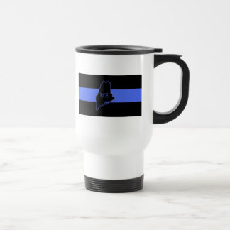 Maine Thin Blue Line travel mug