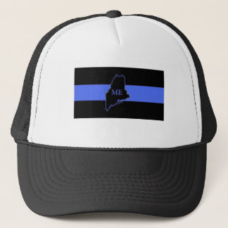Maine Thin Blue Line trucker hat