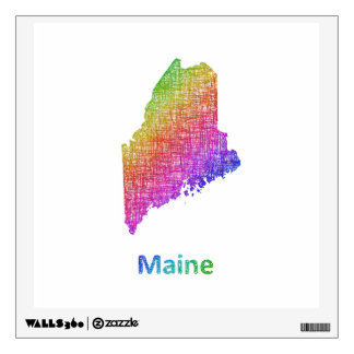Maine Wall Decal