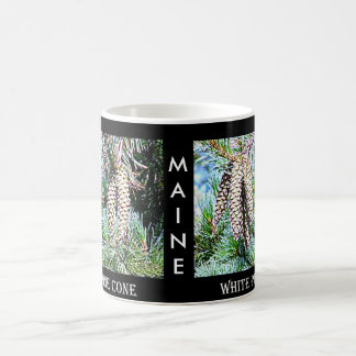 Maine White Pine Cone Coffee Mug