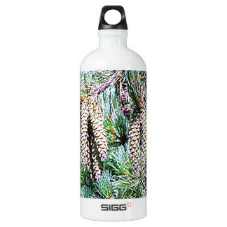 Maine White Pine Cone Water Bottle