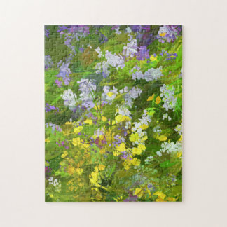 Maine Wildflowers Jigsaw Puzzle