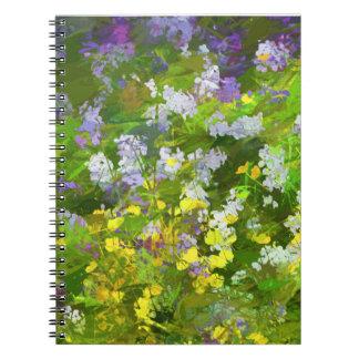 Maine Wildflowers Spiral Notebook