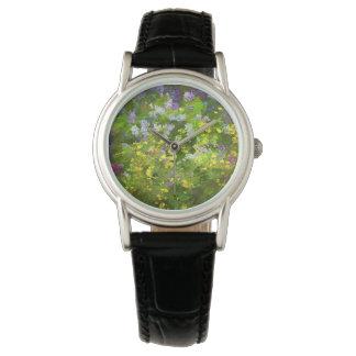 Maine Wildflowers Wrist Watch