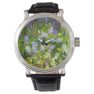 Maine Wildflowers Wristwatches