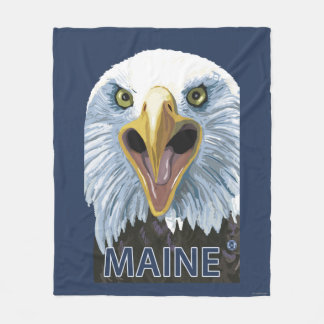 MaineEagle Up Close Fleece Blanket