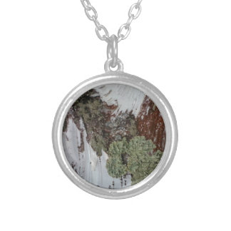 Mainely Birch Silver Plated Necklace