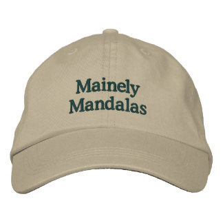 Mainely Mandalas Baseball Cap