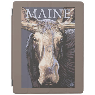 MaineMoose Up Close iPad Cover