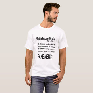 Mainstream Media Adjective T-Shirt