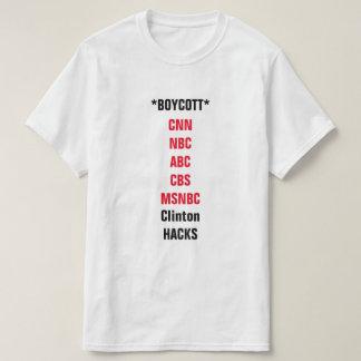 Mainstream media boycott T-Shirt