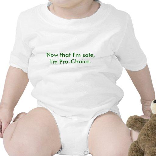 Maintenant que je suis sûr, je suis Pro-Choix Body Pour Bébé