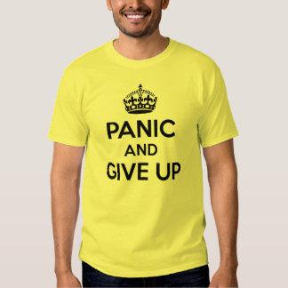 Maintenez calme et continuez la parodie t shirt