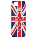 maintenez calme et continuez le drapeau d'Union Ja Coque Case-Mate iPhone 5
