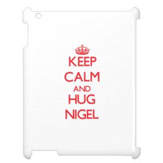 Maintenez calme et ÉTREINTE Nigel Étui iPad