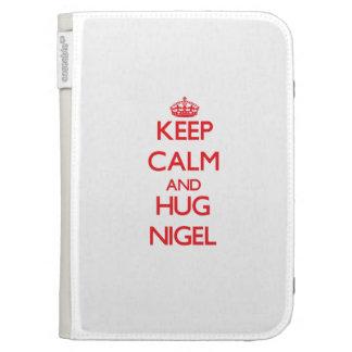 Maintenez calme et ÉTREINTE Nigel Étuis Kindle