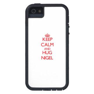 Maintenez calme et ÉTREINTE Nigel Coques iPhone 5