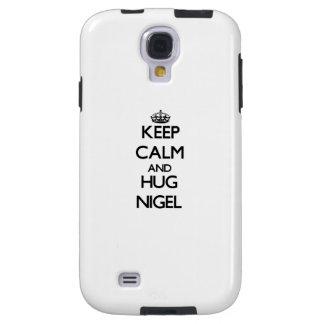 Maintenez calme et étreinte Nigel