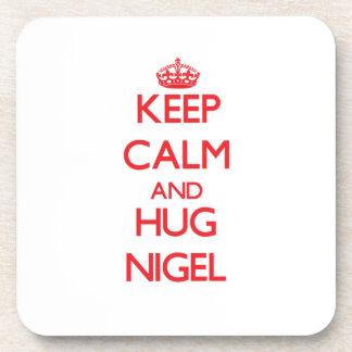 Maintenez calme et ÉTREINTE Nigel Sous-bocks