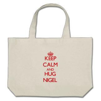 Maintenez calme et ÉTREINTE Nigel Sac