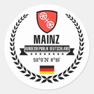 Mainz Classic Round Sticker