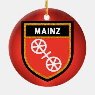 Mainz Flag Ceramic Ornament