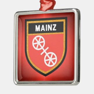Mainz Flag Metal Ornament