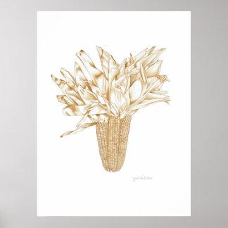 Maïs de l'Idaho Poster