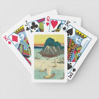 Maisaka, Japan: Vintage Woodblock Print Poker Deck