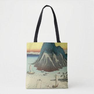 Maisaka, Japan: Vintage Woodblock Print Tote Bag