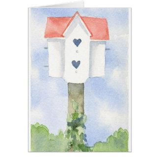 Maison affectueuse carte de correspondance
