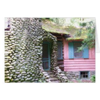 Maison dans le Smokies Carte De Correspondance
