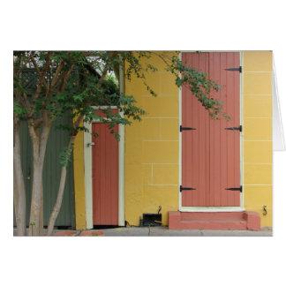 Maison de Colorfull à la Nouvelle-Orléans Carte De Correspondance