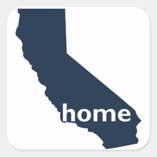 Maison de la Californie Sticker Carré