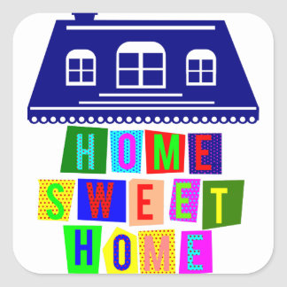 maison douce à la maison adhésif