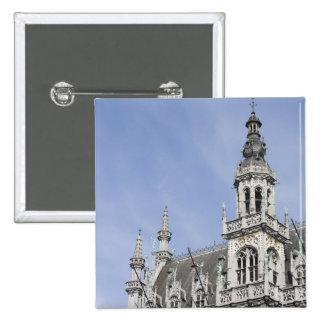 Maison du Roi, Brussels, Belgium 2 Inch Square Button