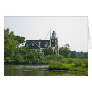 Maison fraîche dans Bellport NY Carte De Correspondance