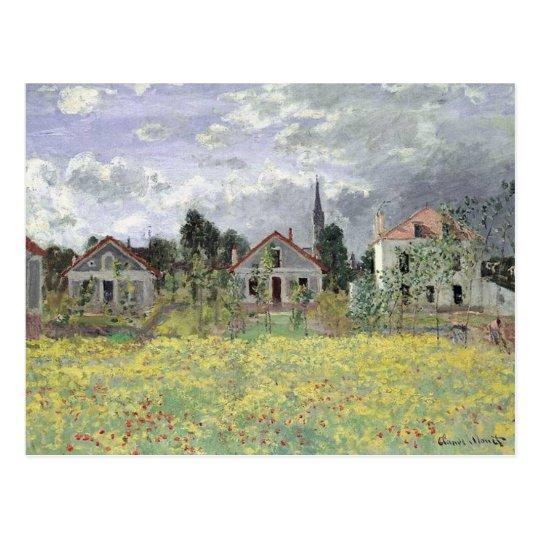 Maisons d'Argenteuil Postcard