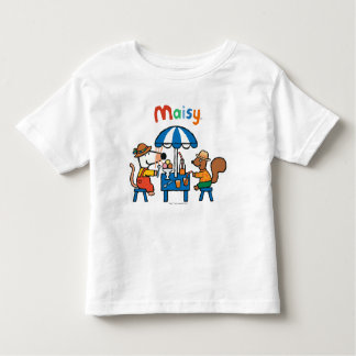 Maisy and Cyril Snacktime at the Beach Toddler T-shirt