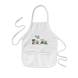 Maisy and Friends at the Beach Kids Apron