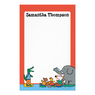 Maisy and Friends Laugh at Story Time Stationery