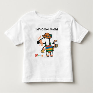 Maisy Collecting Shells At The Beach Toddler T-shirt