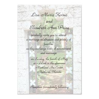 "Maitland Art Center Commitment Ceremony 5"" X 7"" Invitation Card"