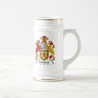 Maitland Family Crest Beer Stein