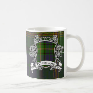 Maitland Tartan Shield Coffee Mug