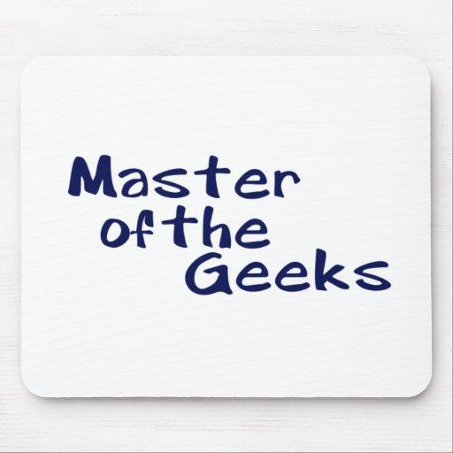 Maître du geeks tapis de souris
