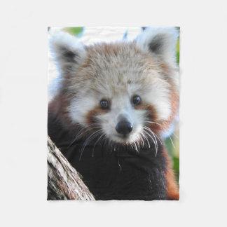 Maiya The Red Panda Fleece Blanket
