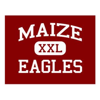 Maize - Eagles - Middle School - Maize Kansas Postcard