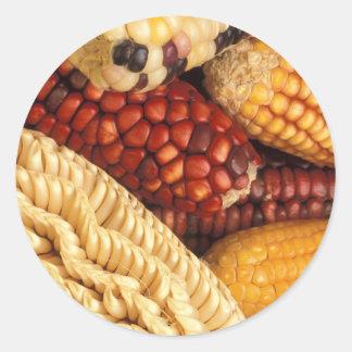 Maize Round Sticker