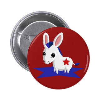 Maize the Democratic Donkey 2 Inch Round Button